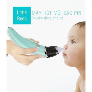 (LOẠI TỐT) Máy Hút Mũi Little Bee Với 5 Cấp Độ Lực Hút Rất Tiện Lợi Thiết Kế Thông Minh Chống Chảy Ngược Chất Liệu Silicone Mềm Mại Và An Toàn - Lỗi 1 Đổi 1 thumbnail