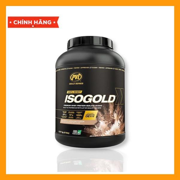 Sữa Bột Tăng Cơ Cực Nhanh Whey Pvl Iso Gold 5lbs 2.27kg