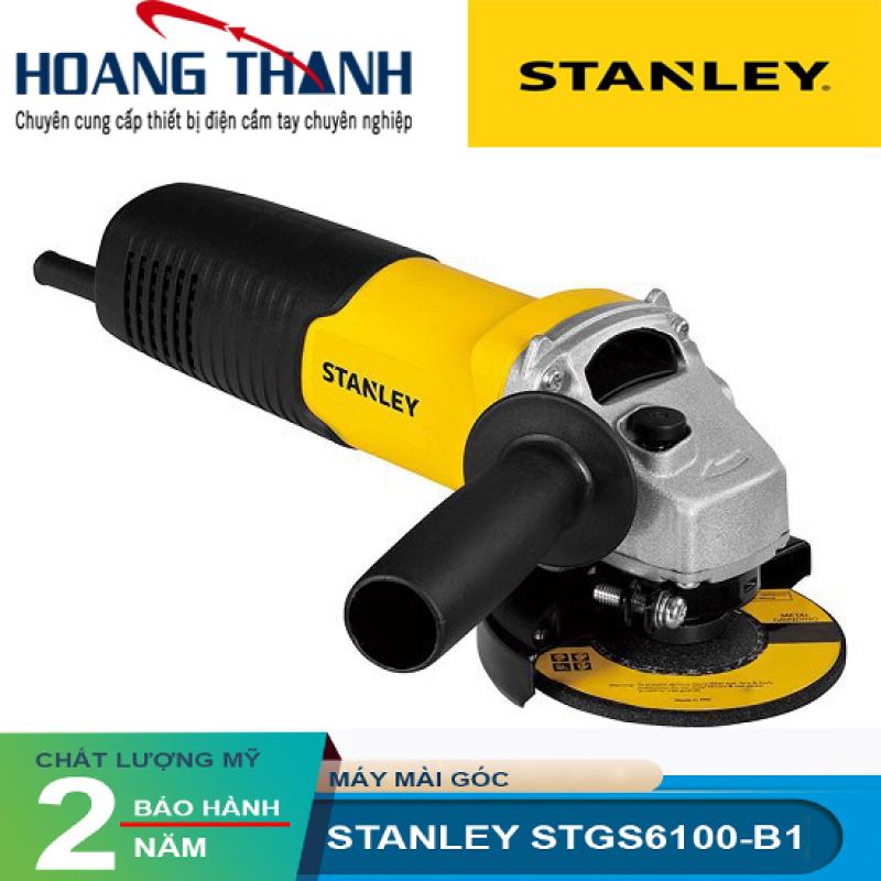 Mô tả sản phẩm MÁY MÀI GÓC STANLEY 680W- 100MM STGS 6100