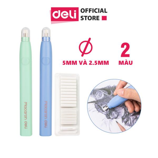 Mua Bút tẩy điện Deli, bao gồm 20 đầu tẩy thay thế - EH02800