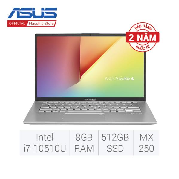 Bảng giá Laptop Asus A512FL-EJ567T/ Silver/ Intel core i7-10510U/ Ram 8GB DDR4/ HDD 1TB/ Nvidia MX250 2GB DDR5/ 15.6 inch FHD/ 2Cell/ FP/ Win 10SL Phong Vũ