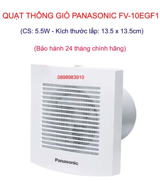 Quạt thông gió PANASONIC FV-10EGF1