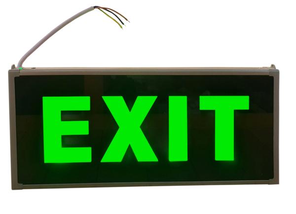 Đèn thoát hiểm exit hai mặt
