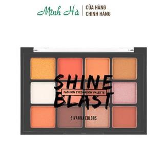 Bảng phấn mắt 12 ô Sivanna Shine Blast Fashion Eyeshadow Palette HF5015 thumbnail