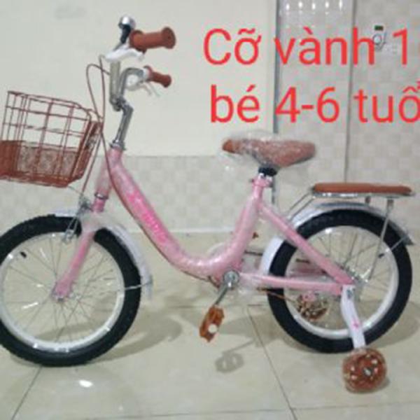 Mua Xe đạp trẻ em nữ Xaming màu hồng loại đẹp 12, 14,16, 18,20