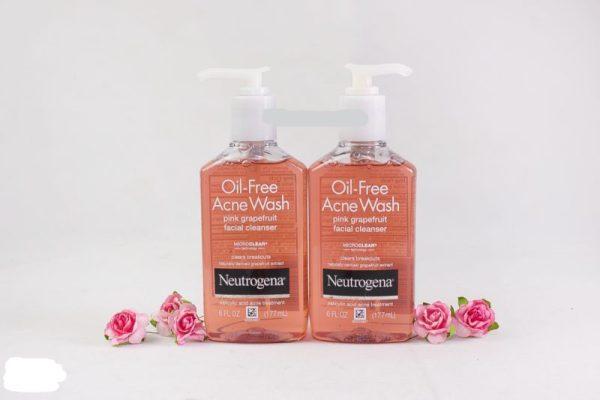 Sữa Rửa Mặt Neutrogena Oil-Free Acne Wash Pink Grapefruit 177ml cao cấp