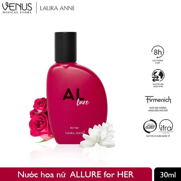 NƯỚC HOA VENUS PERFUME HOUSE - Laura Anne - Allure for Her - 30ml