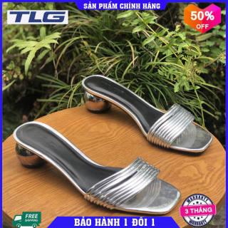 Guốc nữ cao gót thời trang Đồ Da Thành Long TLG 21224