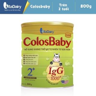 Sữa bột Colosbaby số 2+ lon 800h thumbnail