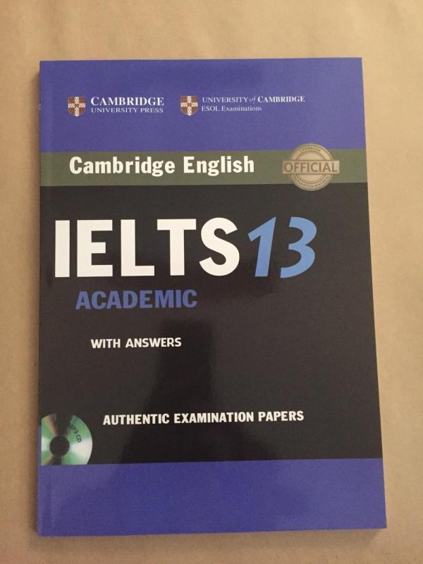 Mua Cambridge IELTS 13 không CD