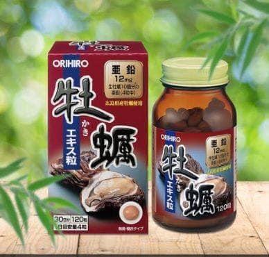 Tinh chất hàu tươi Orihiro 120 Viên Nhật Bản