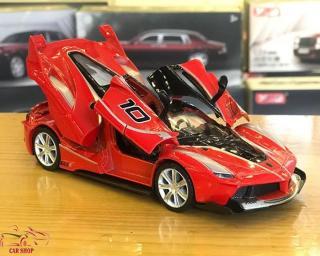 Mô hình ô tô siêu xe Ferrari FXX-K tỉ lệ 1 32 màu đỏ thumbnail