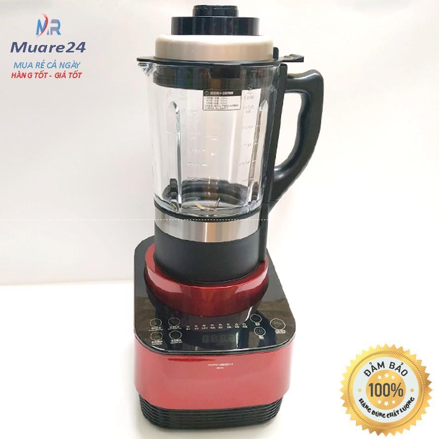 Máy xay nấu đa năng máy làm sữa hạt Ranbem 735H 1600W Bảo hành 12 Tháng (Tiếng Việt)