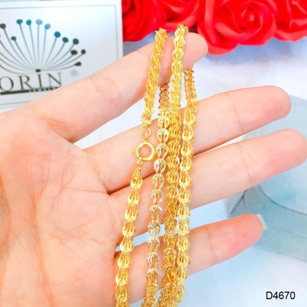 Dây chuyền, dây đeo cổ, dây phụng bền màuthiết kế thời thượng Orin D4670