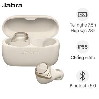 ( Đằng Cấp Tai Nghe ) Tai nghe Bluetooth True Wireless Jabra Elite 75T - Tai Nghe Nhét Tai Không Dây- Chất Âm Thanh Cao, Âm Trầm Mạnh Mẽ - Sử Dụng Tối Đa 28h - Chống Nước, Chống Bụi IP55 - Thiết Kế Thời Trang, Nhỏ Gọn- Bảo Hành 12th thumbnail