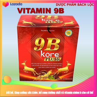 [Hộp 100 viên] Viên Uống Bồi Bổ Sức Khỏe 9B Kore Pluss - Giúp bổ sung vitamin và dưỡng chất, tăng sức đề kháng, giảm mệt mỏi, giúp ăn ngon miệng thumbnail