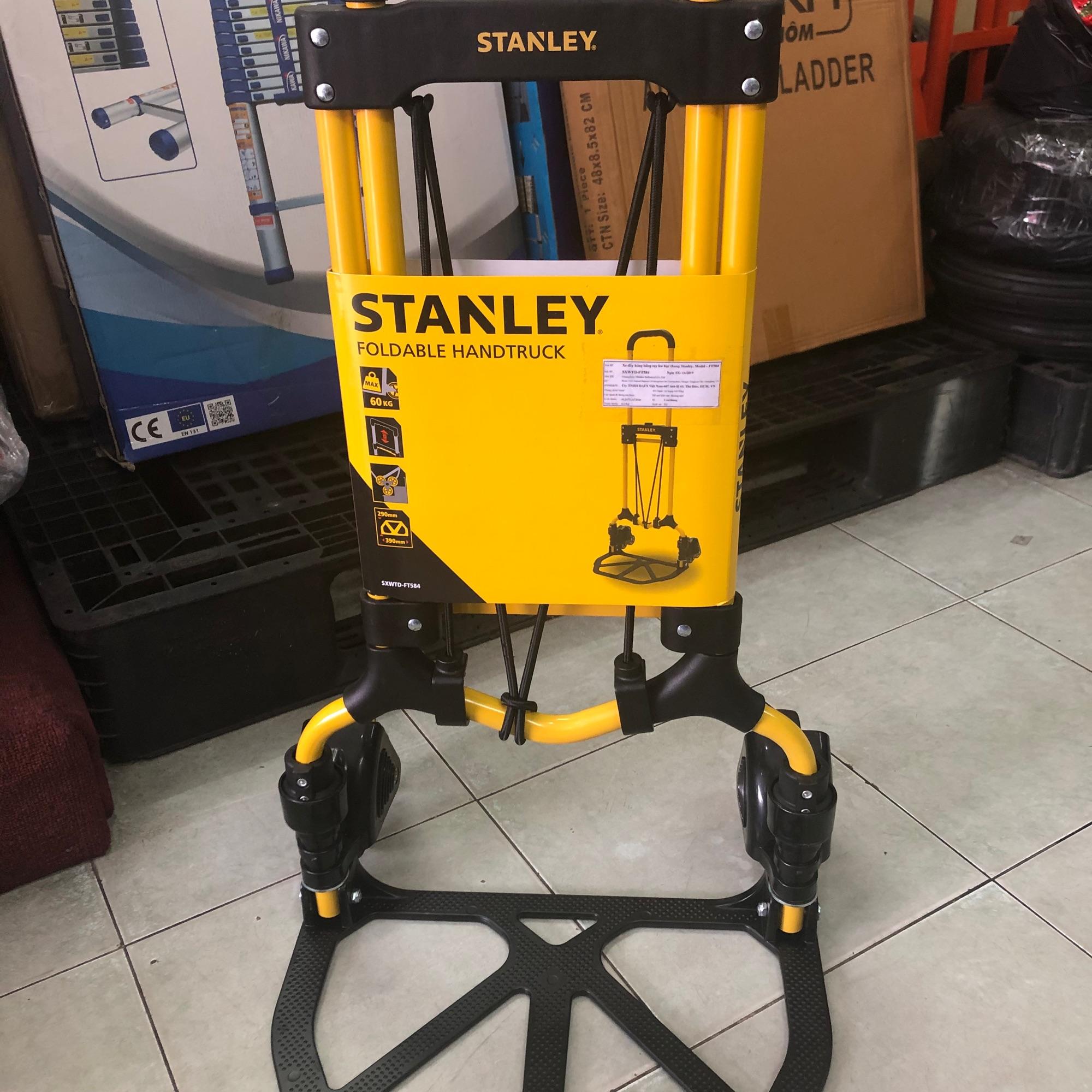 Xe đẩy leo cầu thang Stanley FT584 tải 60/30kg