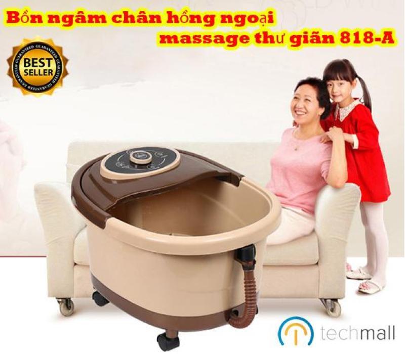 Bồn ngâm chân hồng ngoại massage thư giãn 818-A - Thiết kế cao cấp cao cấp