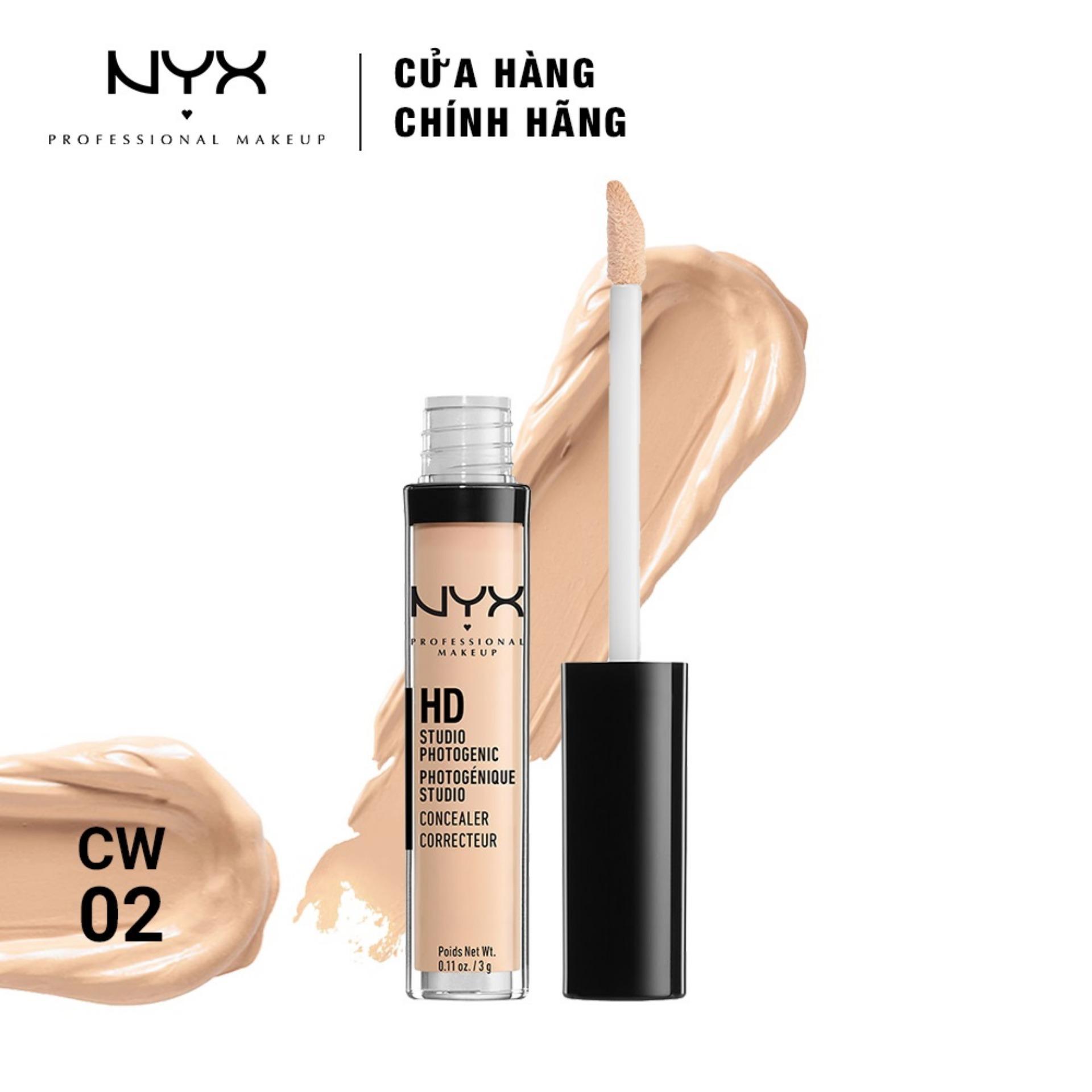 Che khuyết điểm NYX Professional Makeup HD Studio Photogenic Concealer Wand 3g tốt nhất
