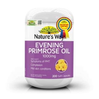 Nature s Way Evening Primrose Oil 1000Mg - Viên uống tinh dầu hoa anh thảo thumbnail