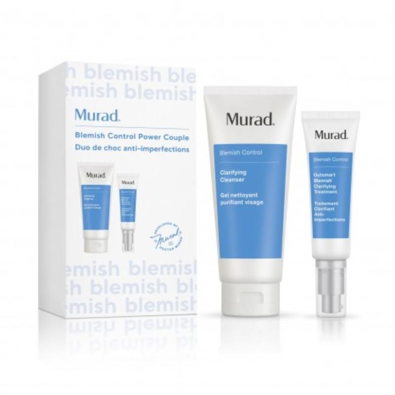 Bộ đôi giảm mụn thông minh Murad BLEMISH POWER COUPLE ACNE HOLIDAY 80901 giá rẻ