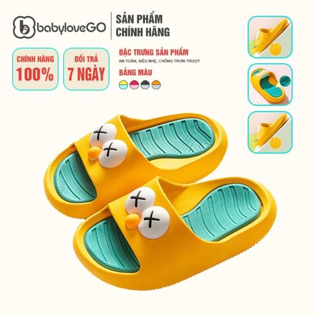 Dép Cho Bé Đế Bánh Mì 808 BabyloveGo Chống Trơn Trượt Sản Phẩm Chính Hãng giá rẻ
