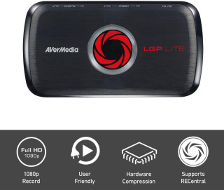 Card ghi hình HDMI AverMedia GL310 cho XBoxOne, PS 3 4 chất lượng cao - AVerMedia AVerCapture HD, Game Streaming and Game Capture, High Definition 1080p, Ultra Low Latency, H.264 Hardware Encoding Game Recorder - USB Video Capture (GL310) thumbnail