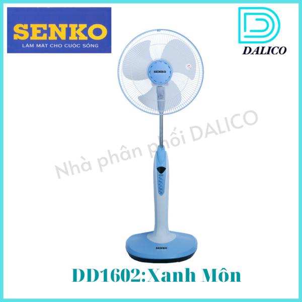 [HCM]Quạt đứng có đèn DD1602 Senko/Quạt đứng Senko/Quạt điện