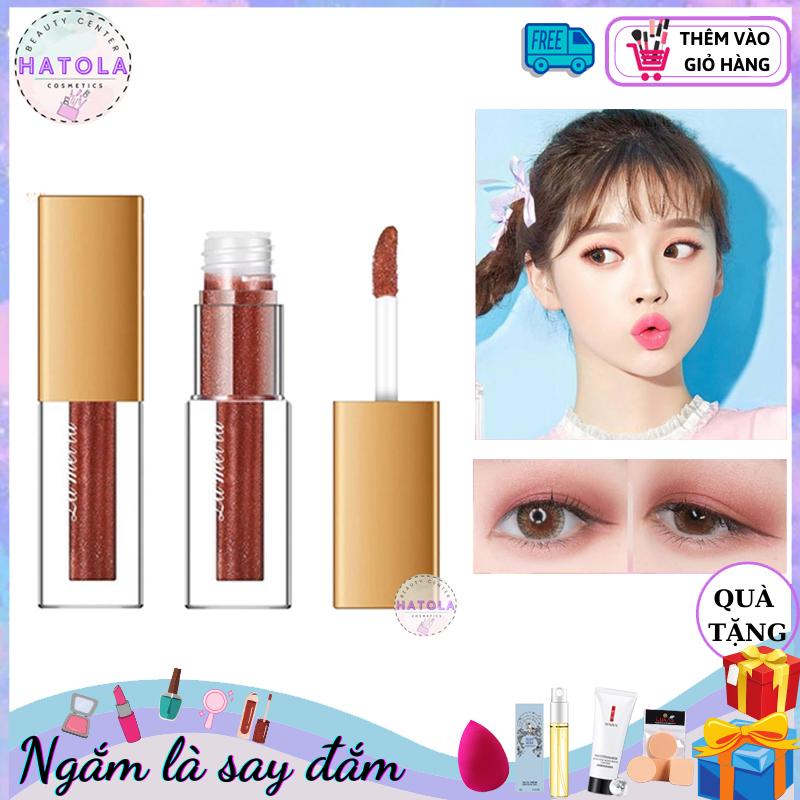 Nhũ mắt màu ánh kim tuyến tuyệt đẹp Lameila Liquid Eye Shadow, Phấn nhũ viền mắt tạo hiệu ứng trang điểm hàng nội địa Trung PN-MAT giá rẻ