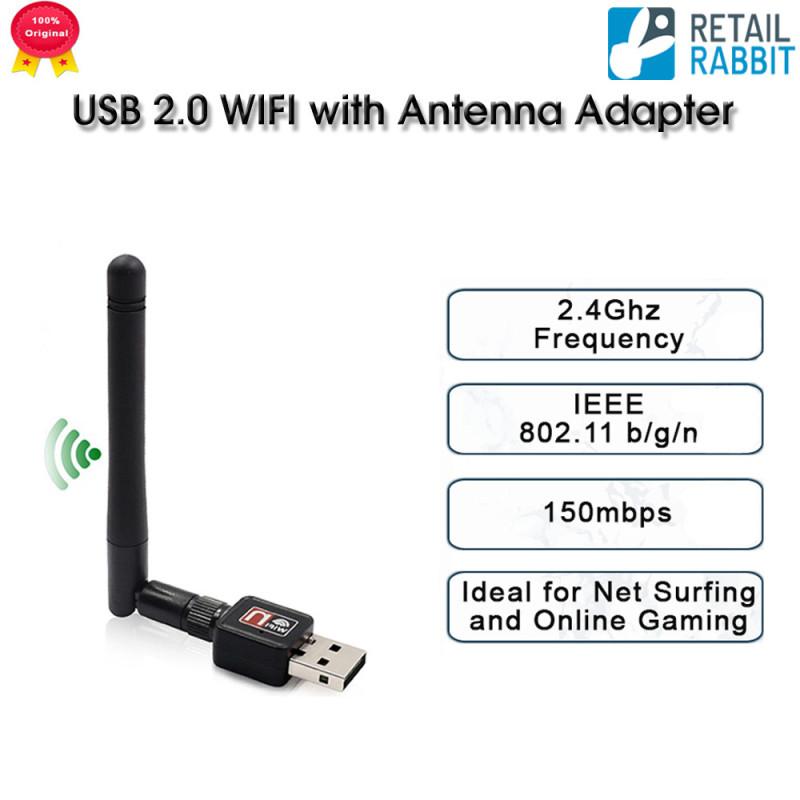 Bảng giá USB 2.0 WIFI Có Bộ Chuyển Đổi Ăng-ten 802.11N 2.4G USB Ethernet Không Dây USB Bộ Thu Thẻ Mạng USB Dongle 150Mbps Cho Máy Tính Xách Tay Phong Vũ