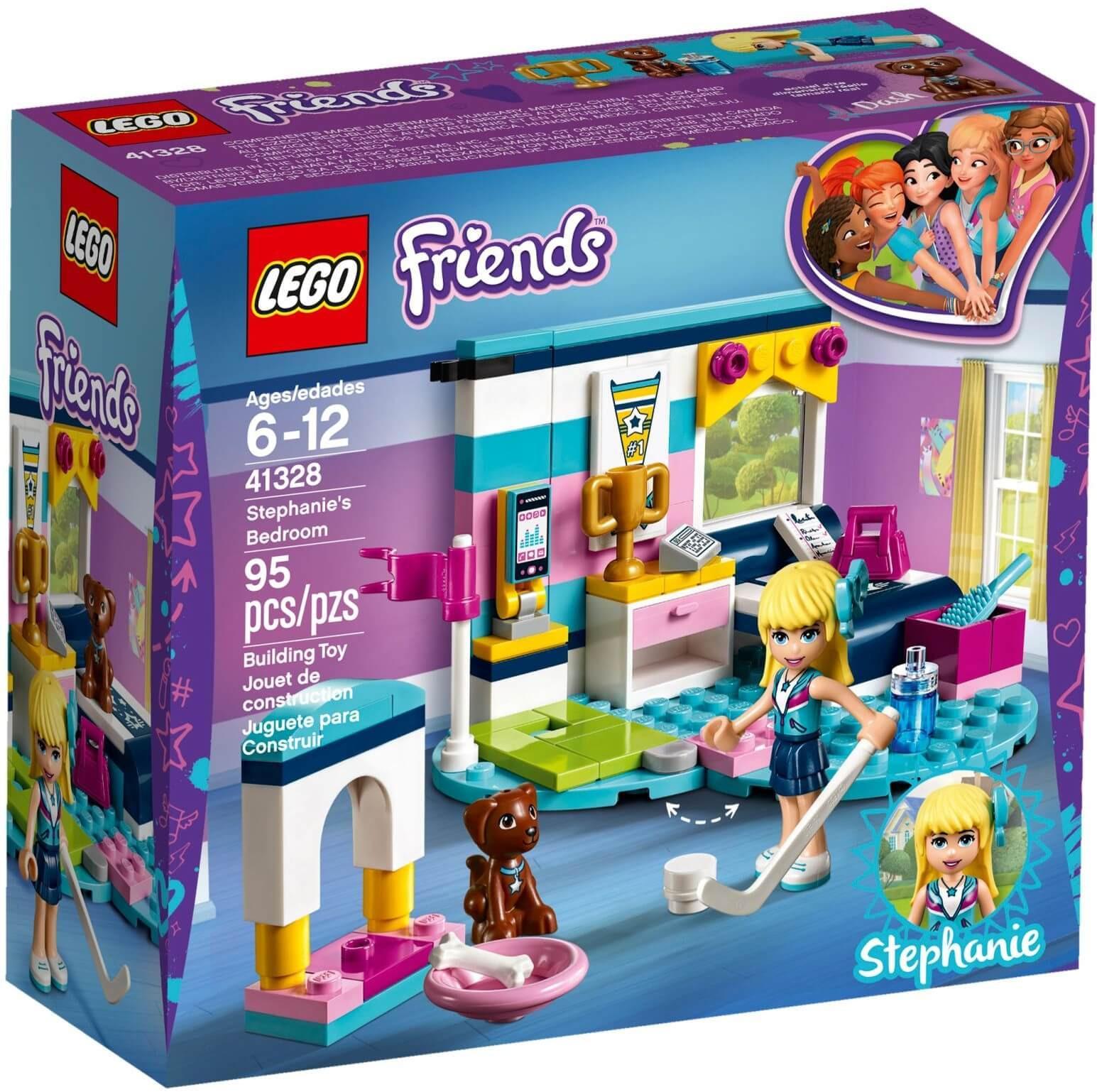 Mua đồ chơi LEGO Friends 41328 - Phòng Ngủ của Stephanie (LEGO Friends 41328 Stephanies Bedroom)