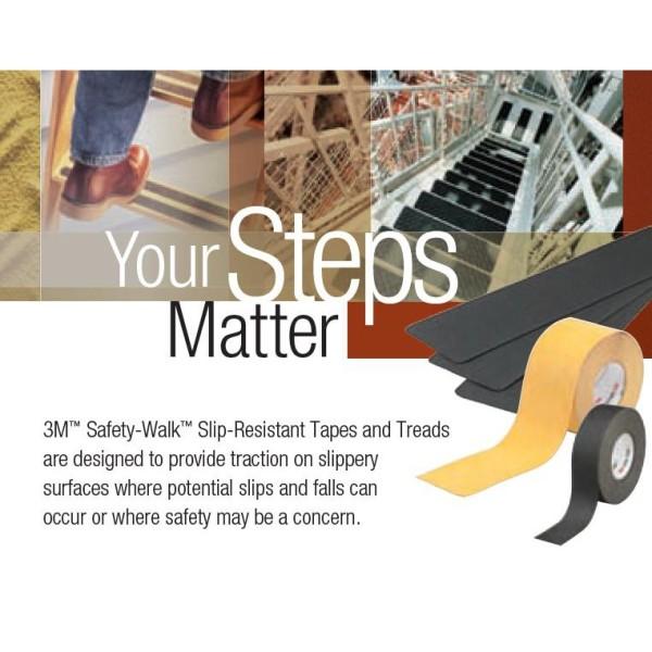 Băng keo chống trượt 3M 610 Safety-walk 50mm x 18m (Đen)