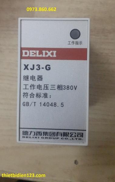 Bảo vệ mất pha XJ3G DELIXI - Bảo vệ mất pha 380v