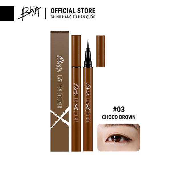 Kẻ mắt nước lâu trôi Bbia Last Pen Eyeliner - 03 Choco Brown (Màu nâu chocolate)