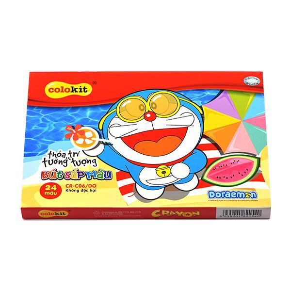 Mua Sáp màu Colokit Doraemon CR-C06/DO