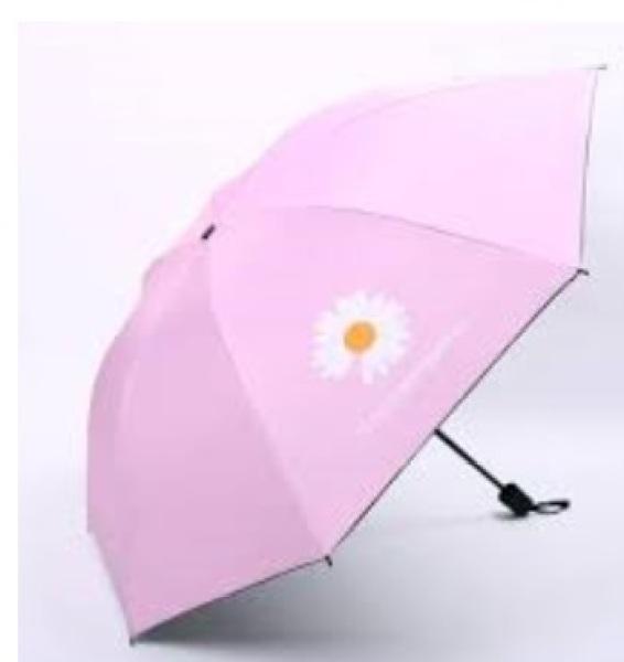 Giá bán Ô dù gấp gọn họa tiết bông  hoa cúc chống tia UV, chống nắng chống mưa- Ô DÙ GẬP HOA CÚC,Dù (Ô) họa tiết hoa cúc chống tia UV, ô che nắng , dù che nắng mưa- thiết kế gọn gàng dễ mang theo
