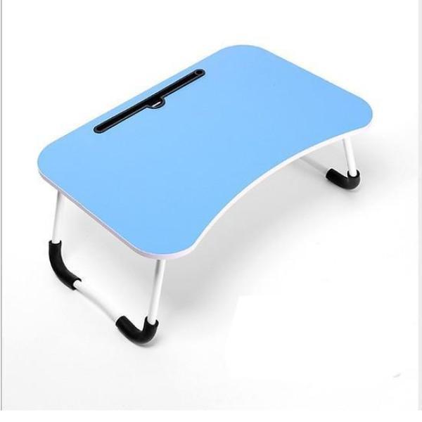 Bàn học sinh gấp gọn thông minh có khe cắm Ipad - để Laptop sinh viên,cho bé