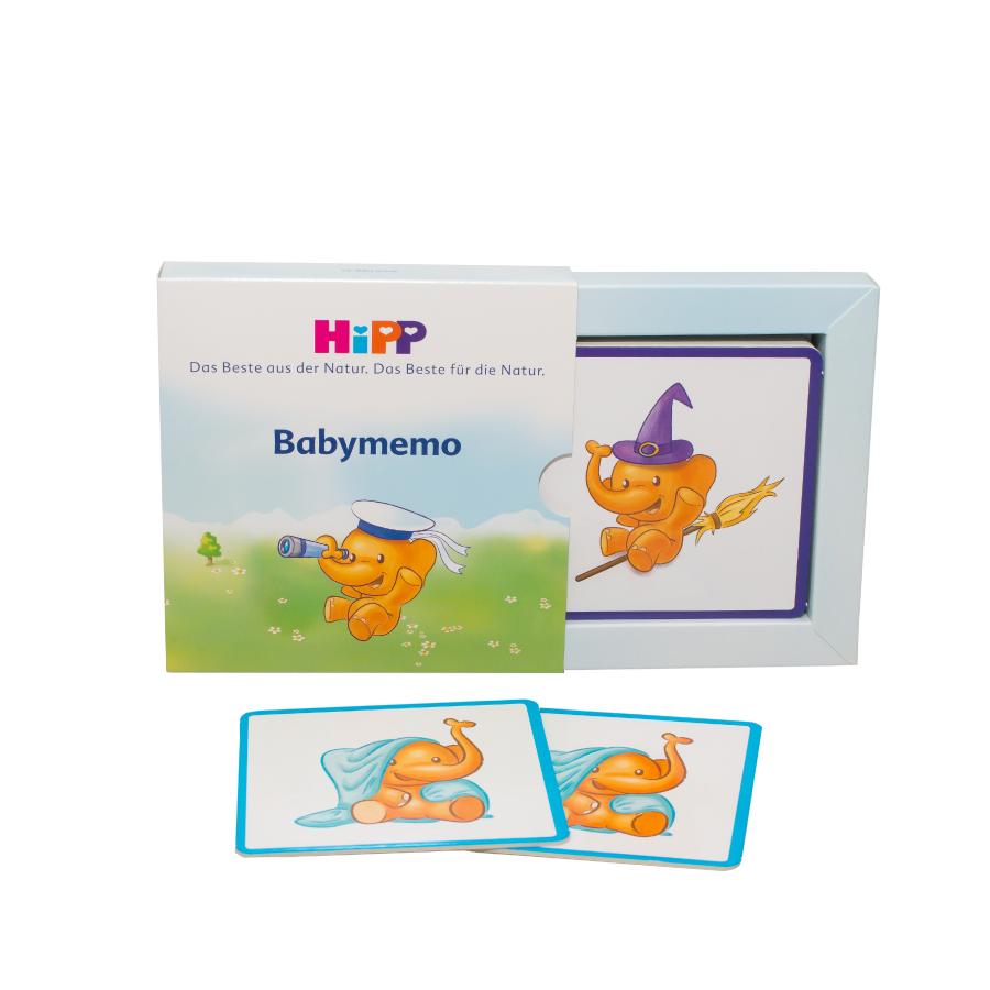 [QUÀ TẶNG KHÔNG BÁN]  Bộ thẻ học luyện trí nhớ cho bé HiPP NK châu Âu