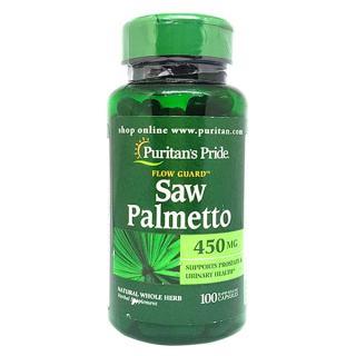 Viên uống hỗ trợ đường tiết niệu Saw Palmetto 450 mg 100 viên thumbnail