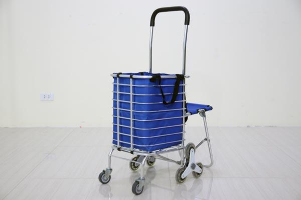 Xe kéo đi chợ, leo cầu thang ADVINDEQ TL-90CN (40-50kgs)