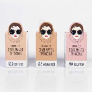 [XẢ KHO] Che khuyết điểm Urban City - Cover Master Tip Concealer chính hãng Hàn Quốc, che khuyết điểm cho da 4