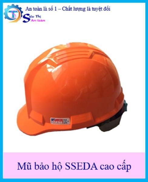 Mũ bảo hộ SSEDA IV cao cấp chất lượng an toàn nón cứng  bảo vệ đầu- Tặng nút tai chống ồn 3M