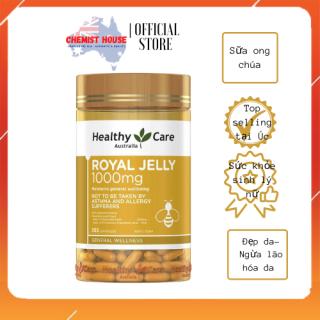 [Hàng Chuẩn ÚC] Healthy Care Royal Jelly - Sữa ong chúa hiệu Healthy care 1000mg 365 viên thumbnail
