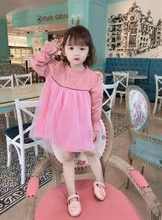 Váy công chúa cao cấp cho bé gái 6-16kg Siêu phẩm váy BABYDOLL - Đầm xinh dài tay cho bé gái (Ảnh thật)