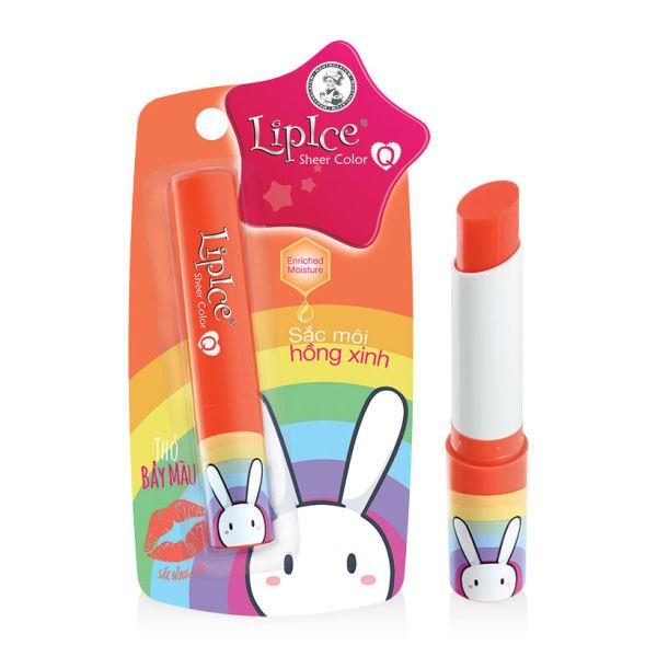 LipIce Sheer Color Q Thỏ Bảy Màu cao cấp