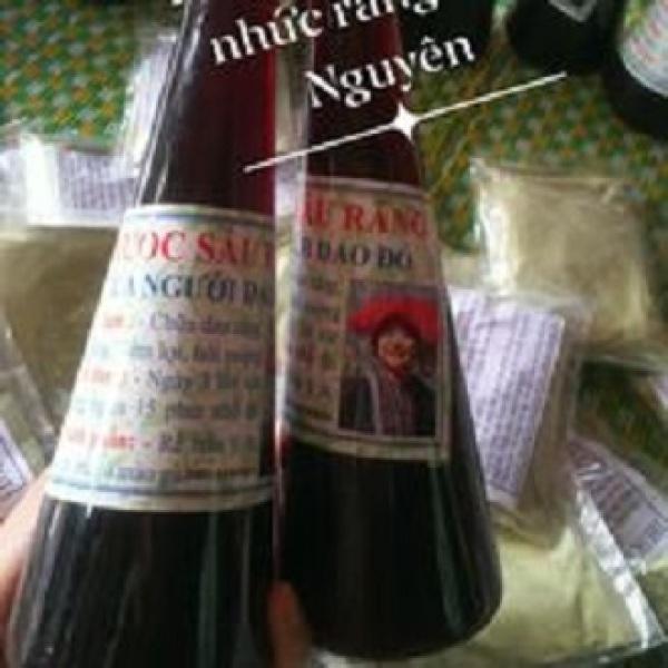 Combo 2 chai Sâu răng, hôi miệng Dao đỏ hiệu quả nhập khẩu