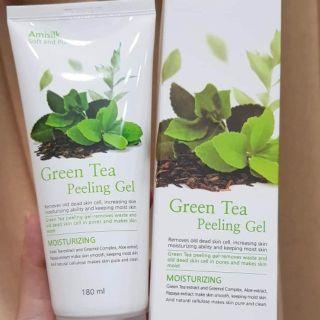 Tẩy da chết Amisilk Green Tea Peeling gel thumbnail