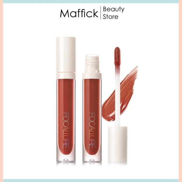 Son môi Focallure son bóng mềm mịn dưỡng ẩm không thấm nước, lấp lánh sáng bóng bền màu lâu trôi với 16 màu tuỳ chọn FSB1 Maffick