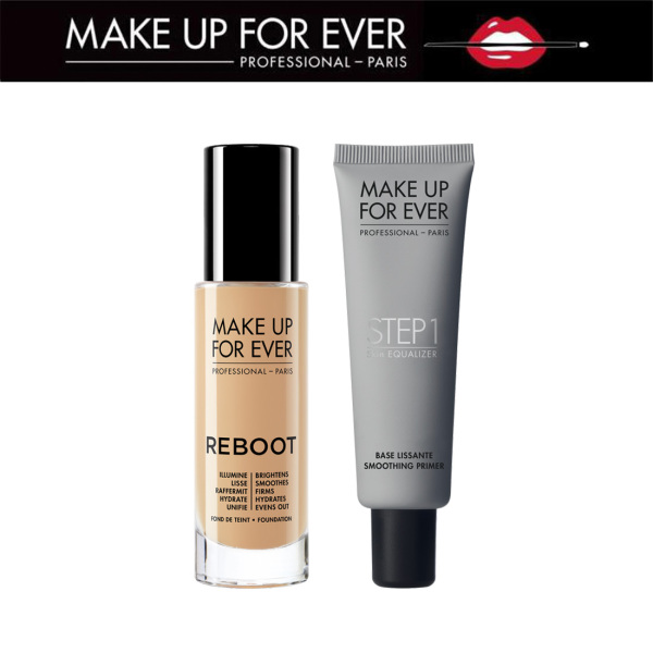 MAKE UP FOR EVER - Reboot Foundation + Step 1 Skin Equalizer Primer