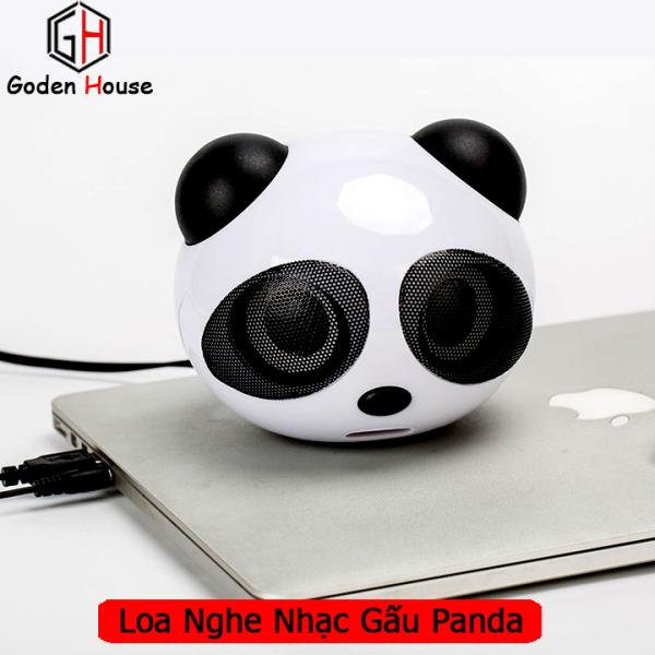 Giá Loa nghe nhạc hình gấu trúc dễ thương, loa máy tính mini T3 âm thanh stereo gấu panda ngộ nghĩnh âm thanh sống động